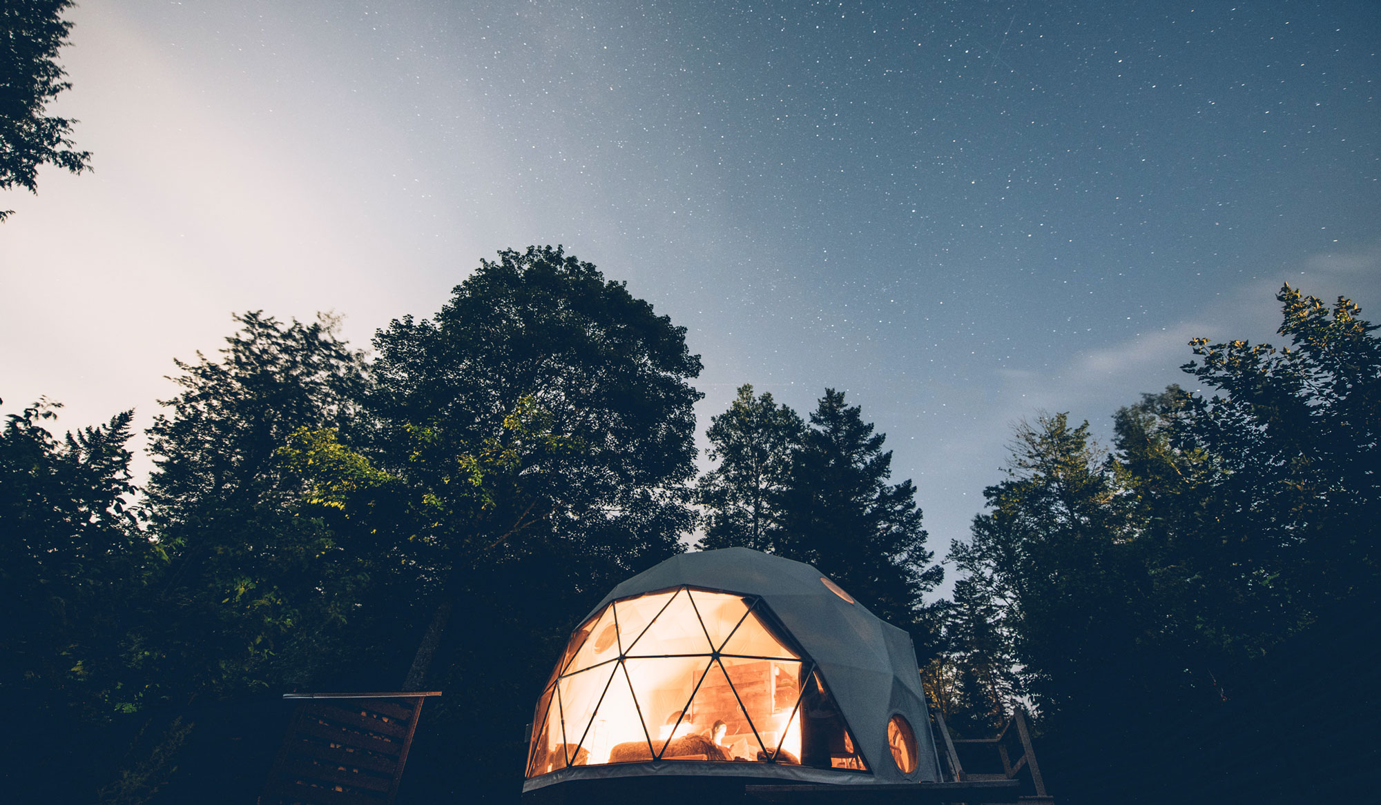 Nuit en Dome, Nouveau brunswick