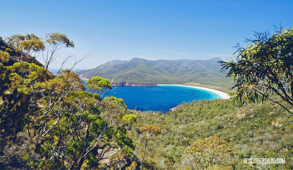 Wineglass bay tasmanie