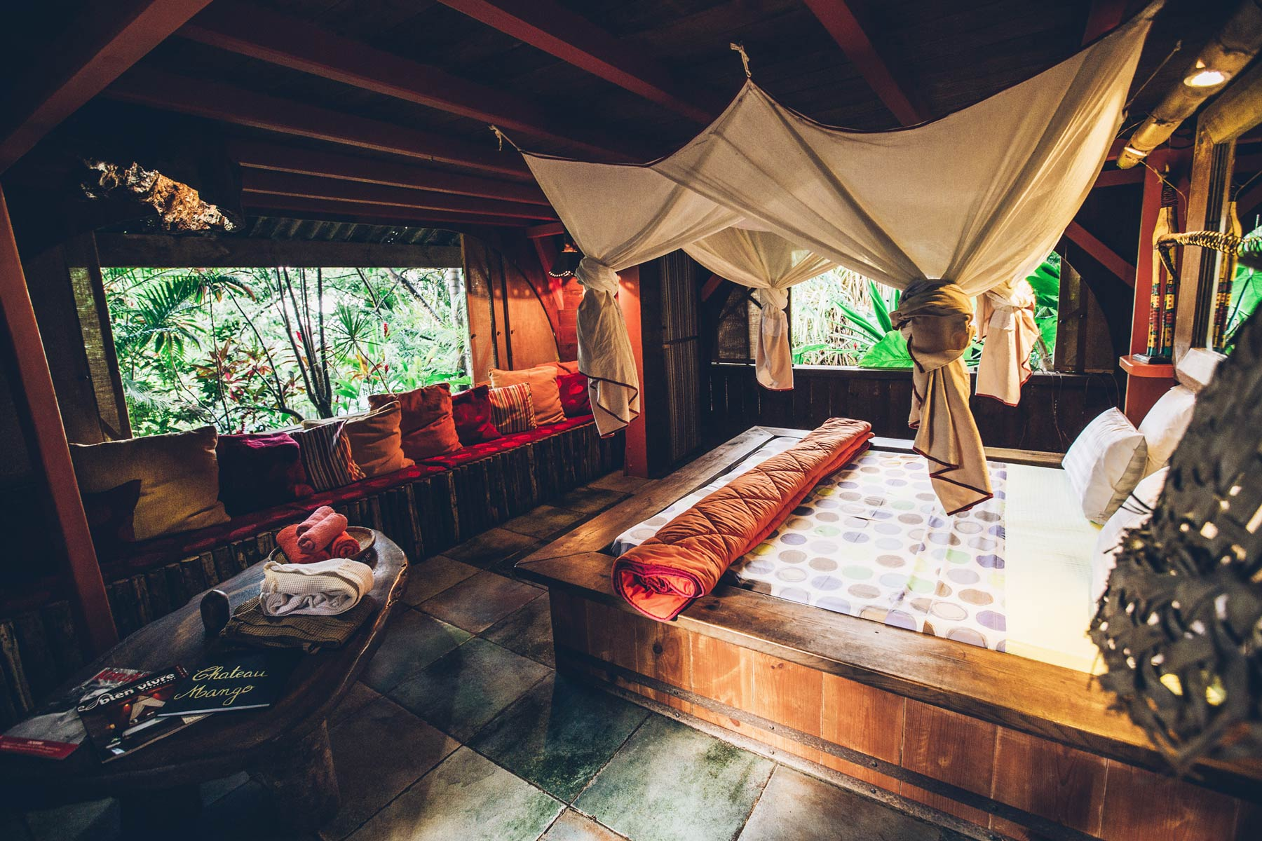 Hotel et cabane insolite Tendacayou, Guadeloupe