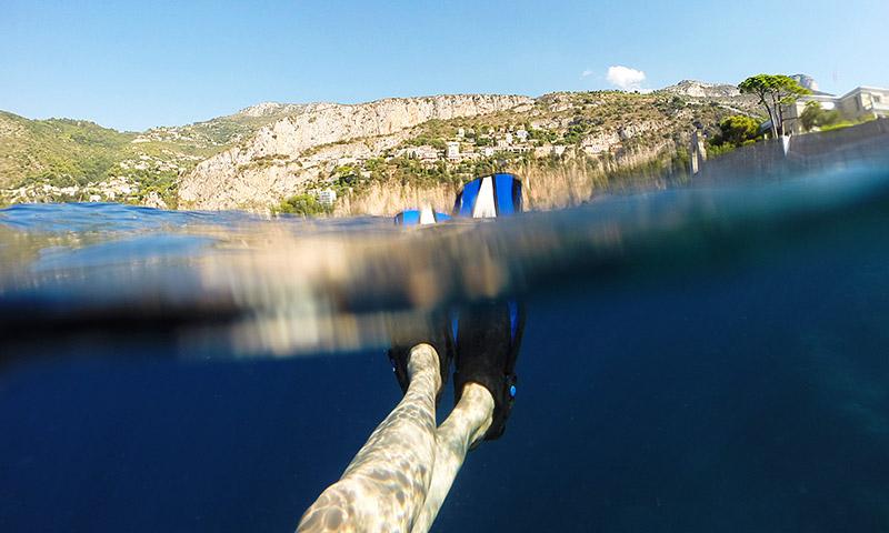 Cap dive snorkeling