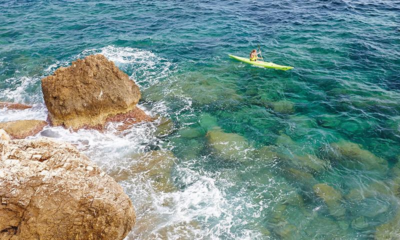 Cap d'ail Kayak