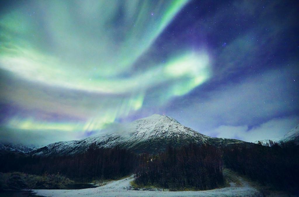 aurore boreale norvege