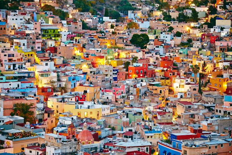 paysage magnifique mexique