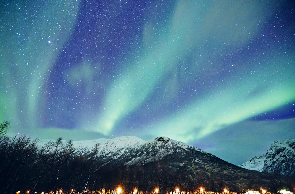 prendre en photo des aurores boreale