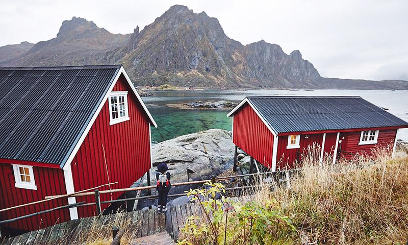 rorbu norvege lofoten