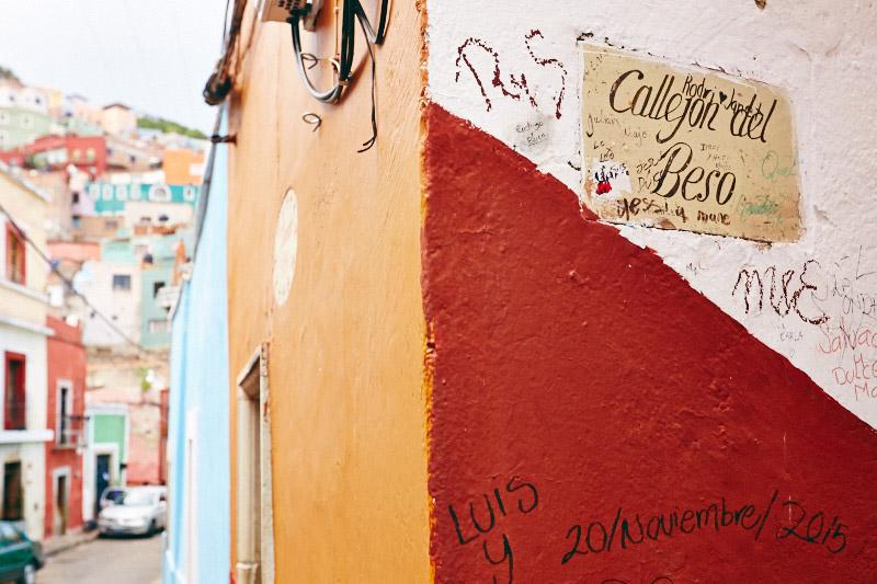 rue du baiser guanajauto