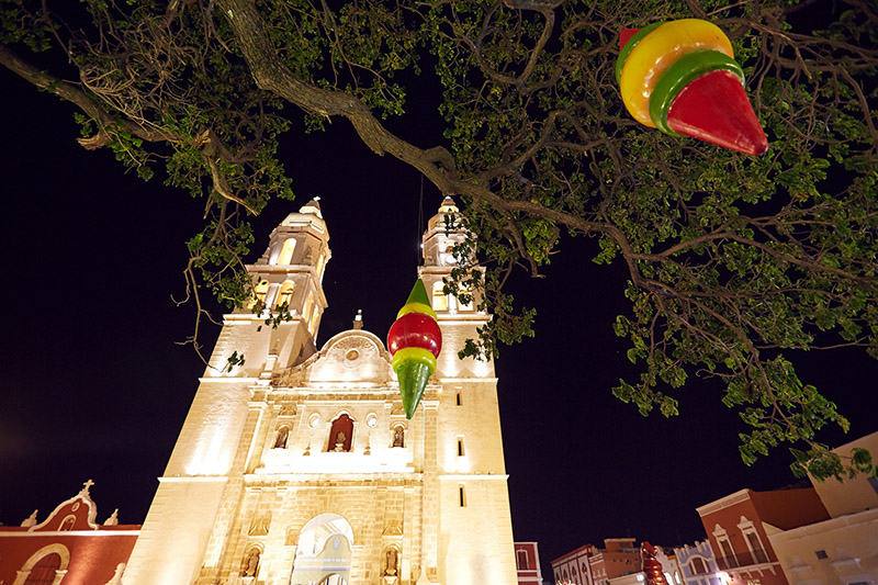 Eglise Mexique Campeche