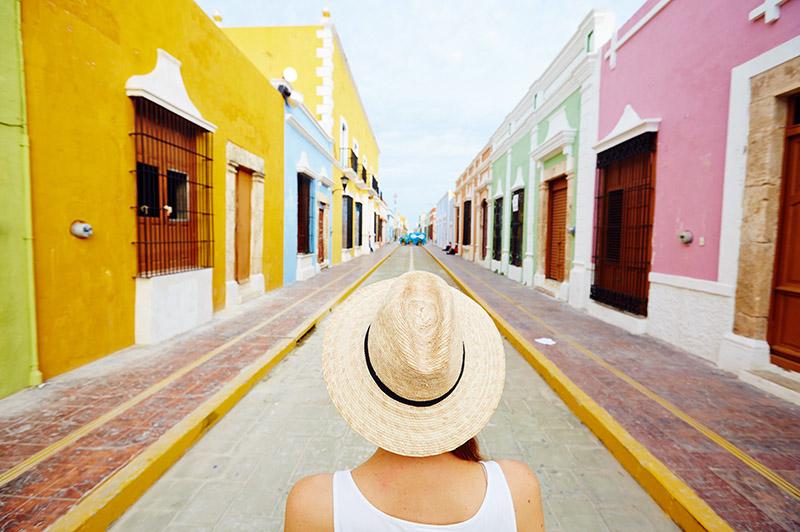 Village coloré Mexique