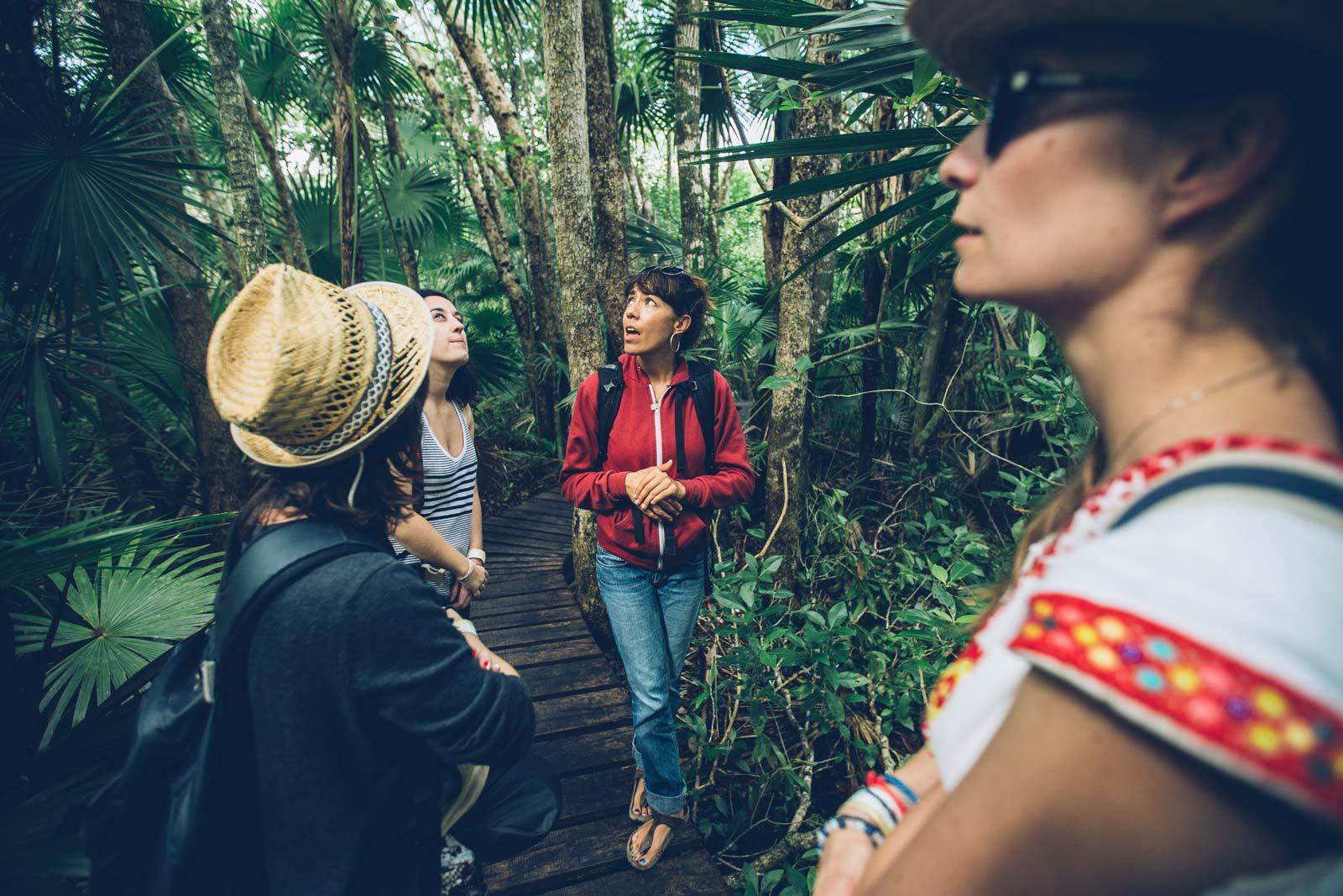 Tour guidé, Sian Kaan, Mexique