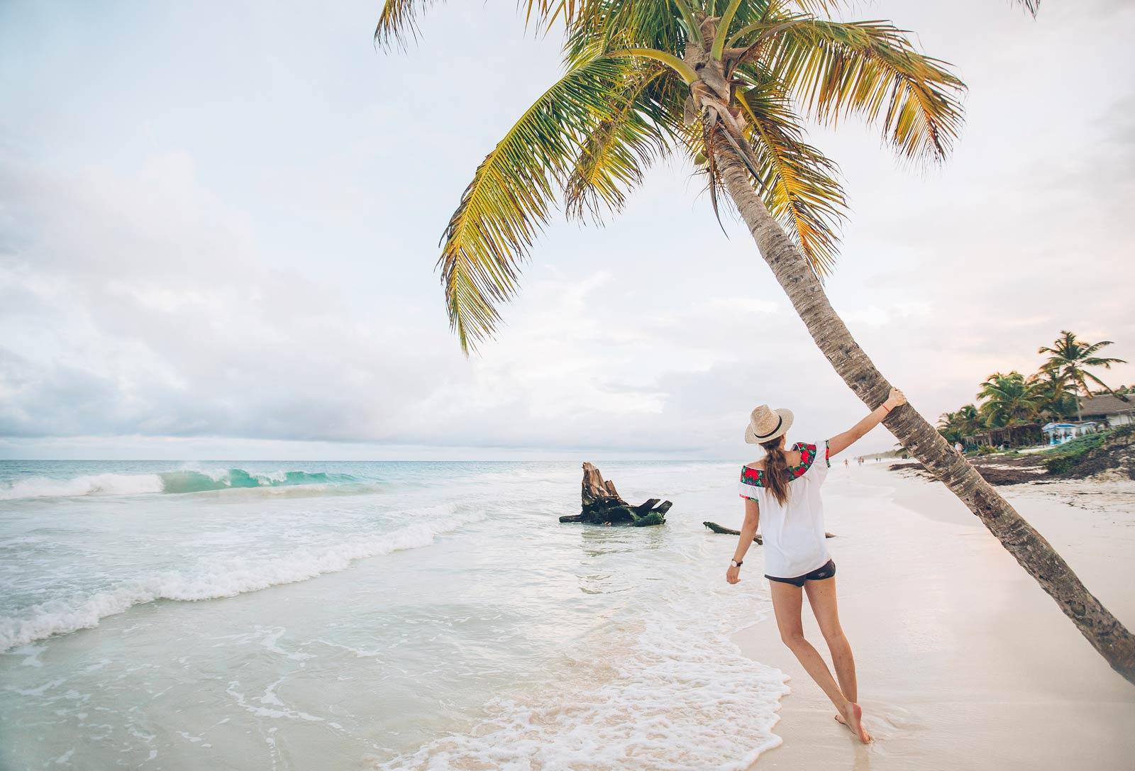 Tulum plage, Mexique