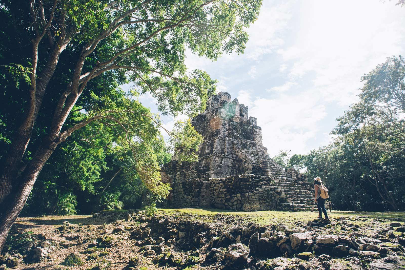 Muyil, Citée Maya, Mexique