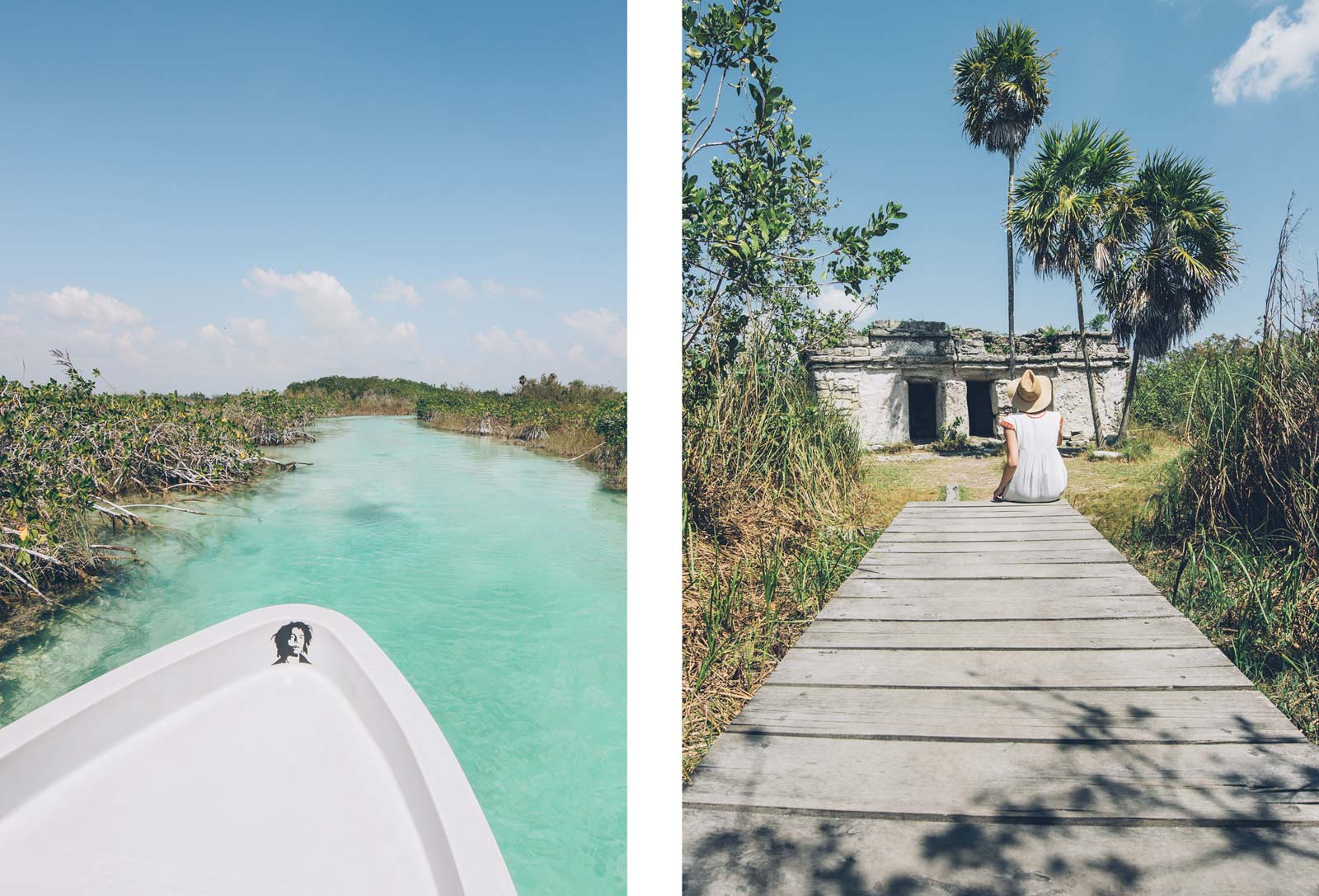 Excursion guidée Sian Kaan avec Martine Dufour