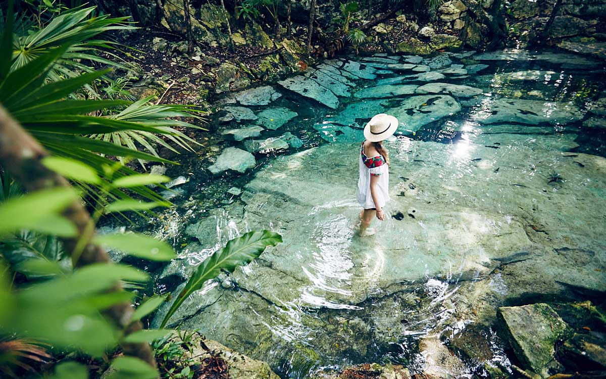 Cenote Azul Tulum