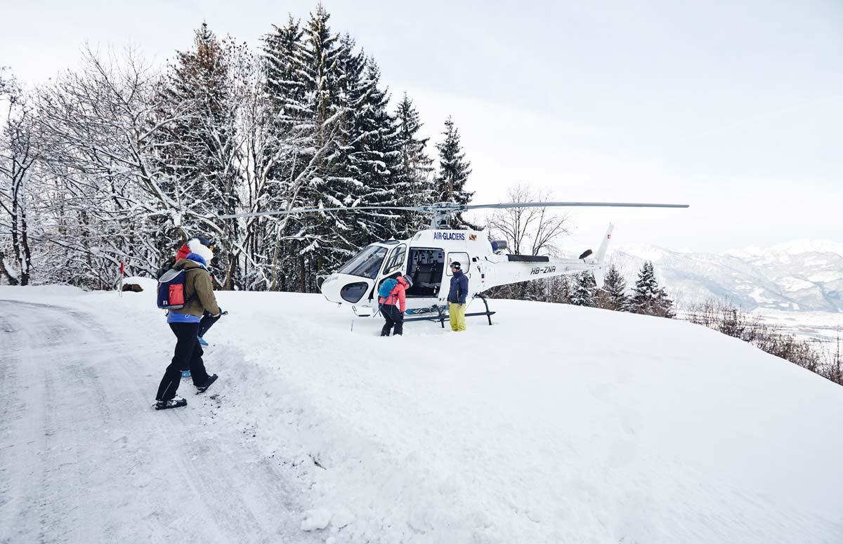 Heli-Ski-Suisse-Villars