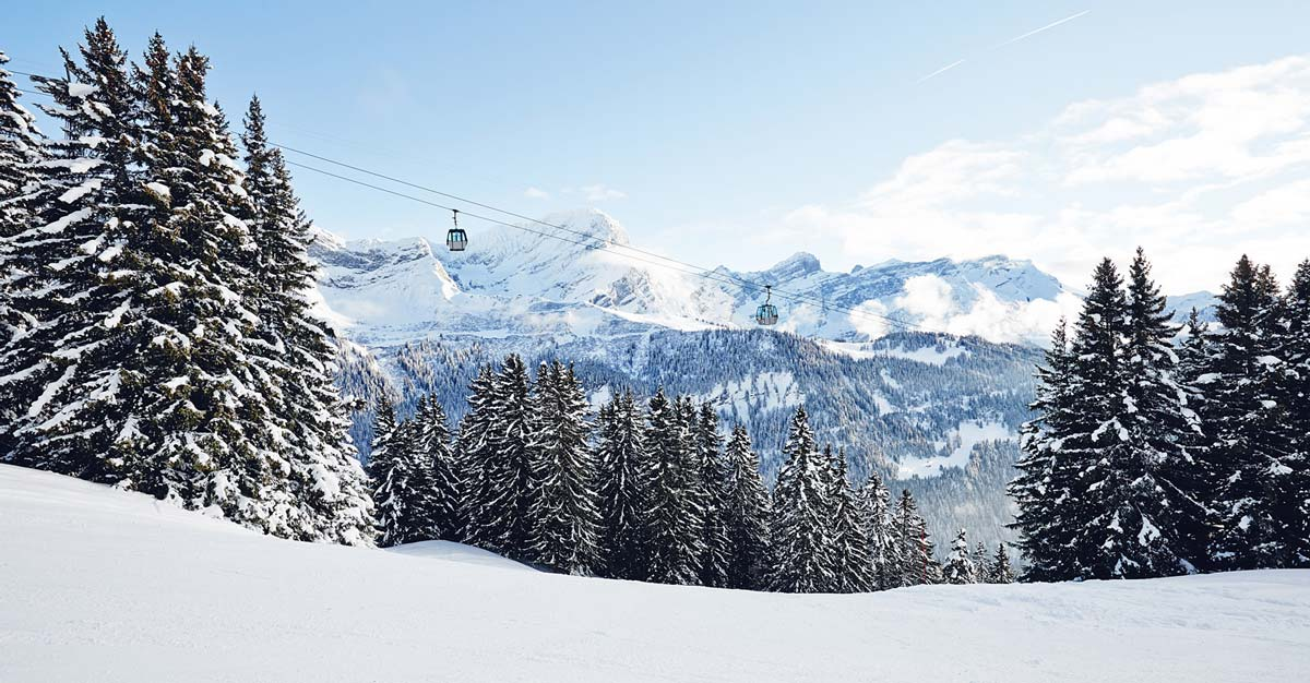 Skier-a-Villars-Gryon