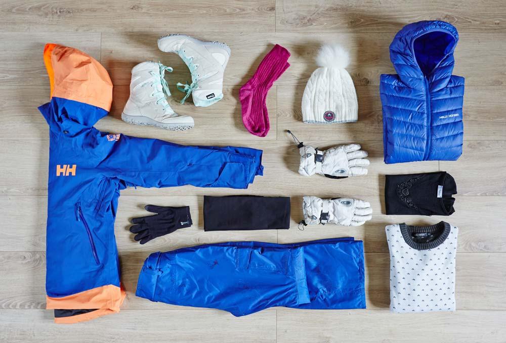 Vetements Norvege en hiver