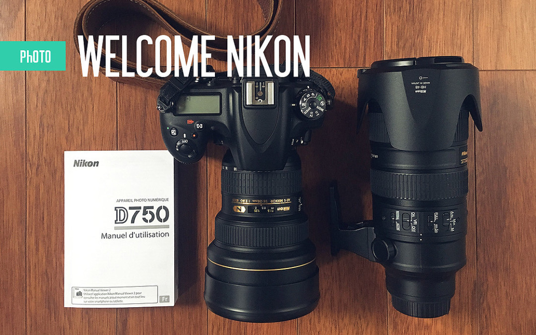 WELCOME NIKON!