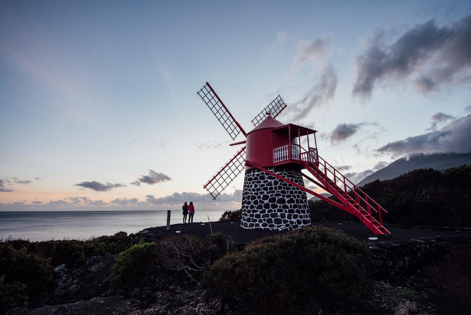 Moulin à vent, Ile de Pico