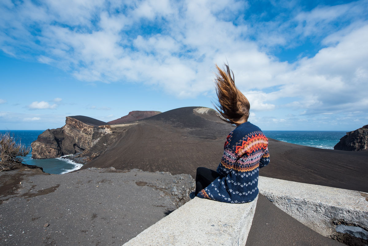 volcan faial les açores