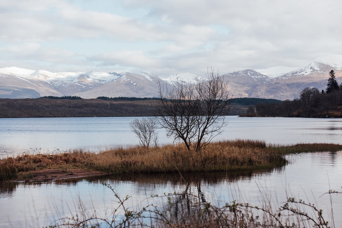 Paysage Ecosse Loch Lochy