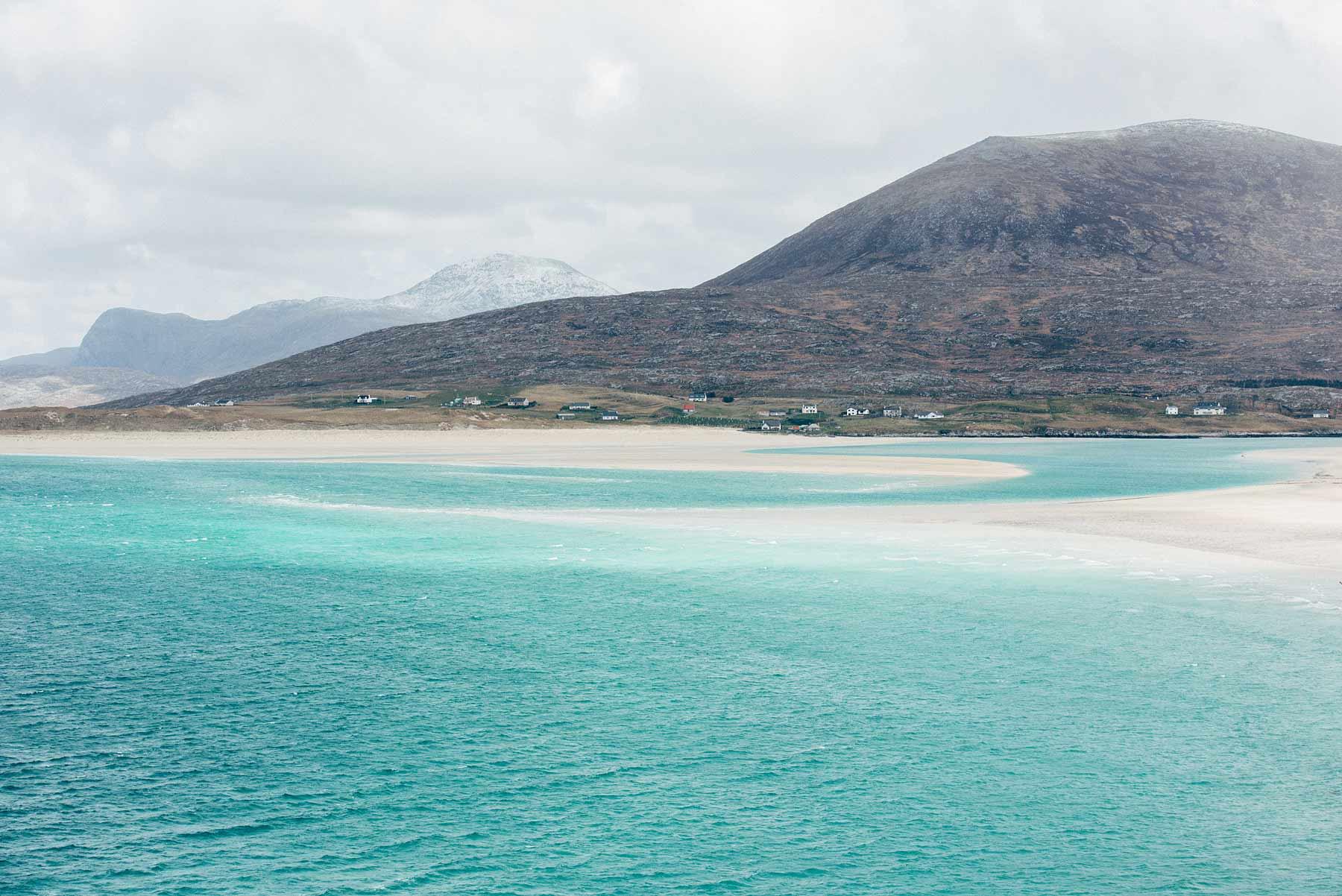 plage turquoise ecosse