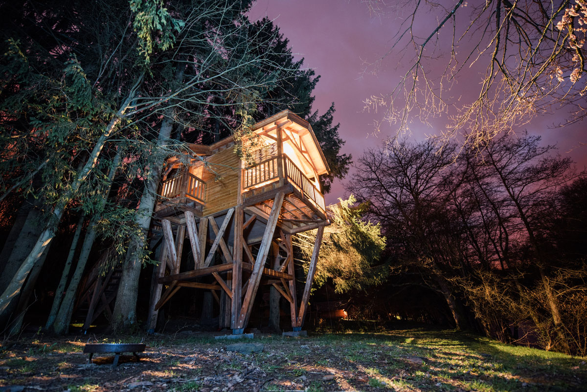 logement insolite cabane belgique