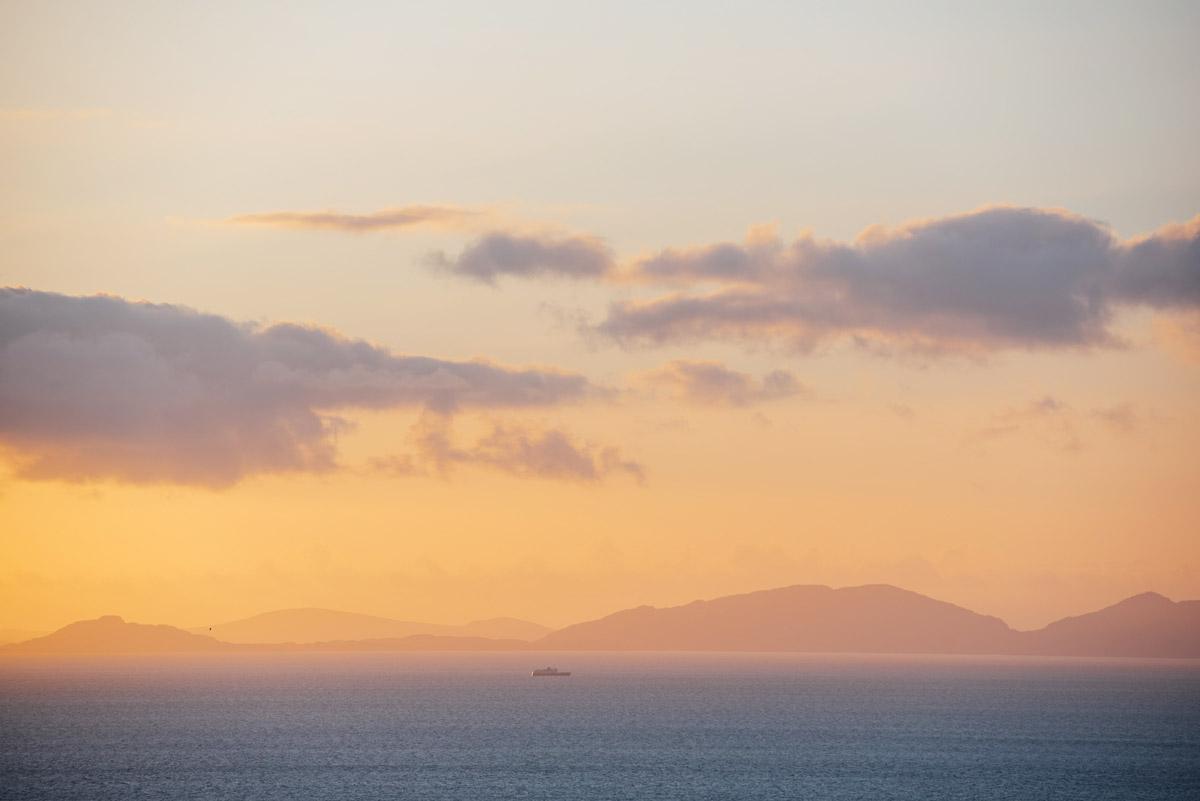coucher de soleil ile de skye