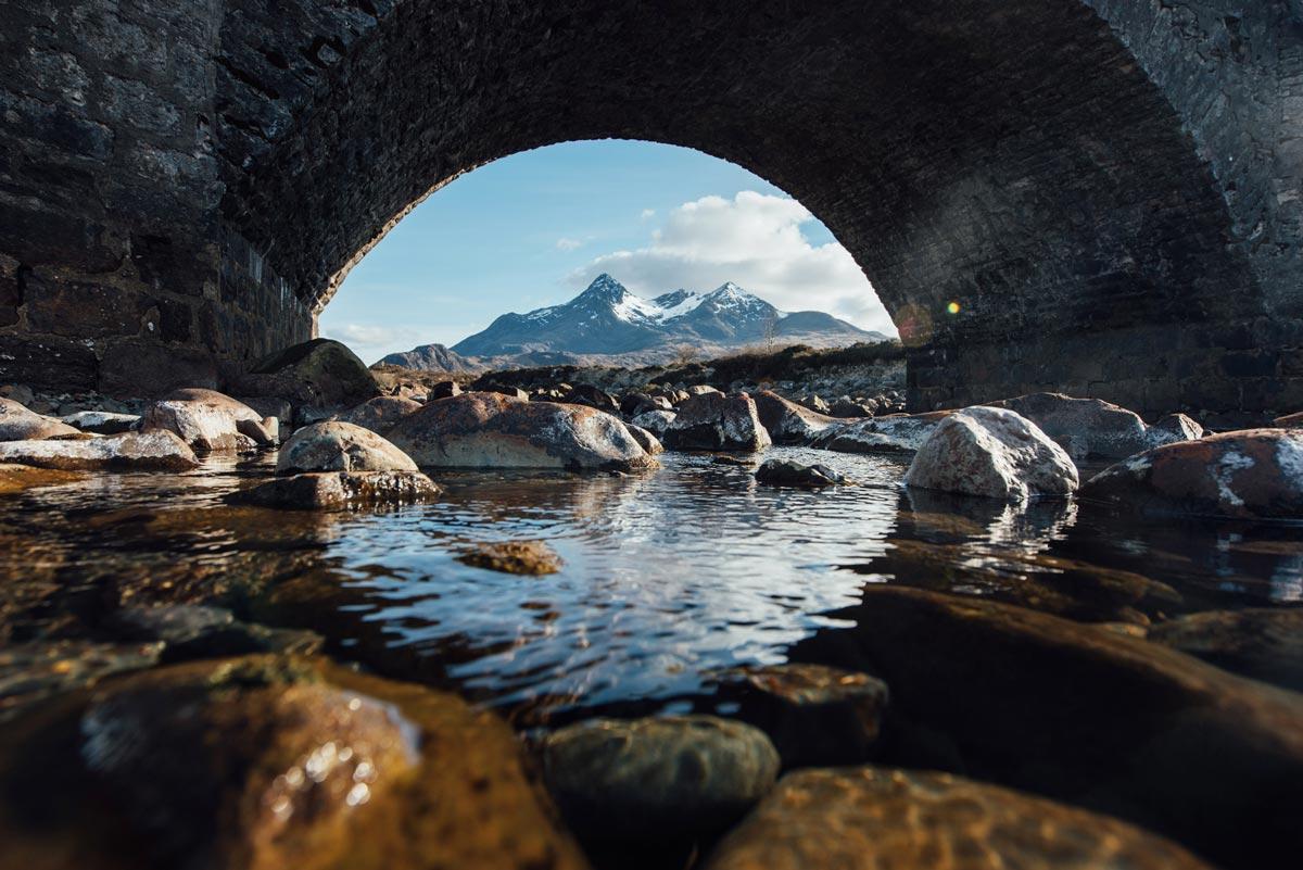 Pont en Pierre Sligachan Skye