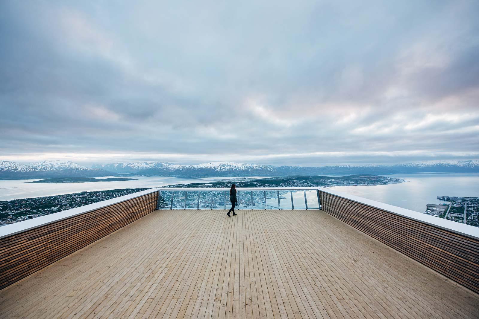 Tromso télécabine vue