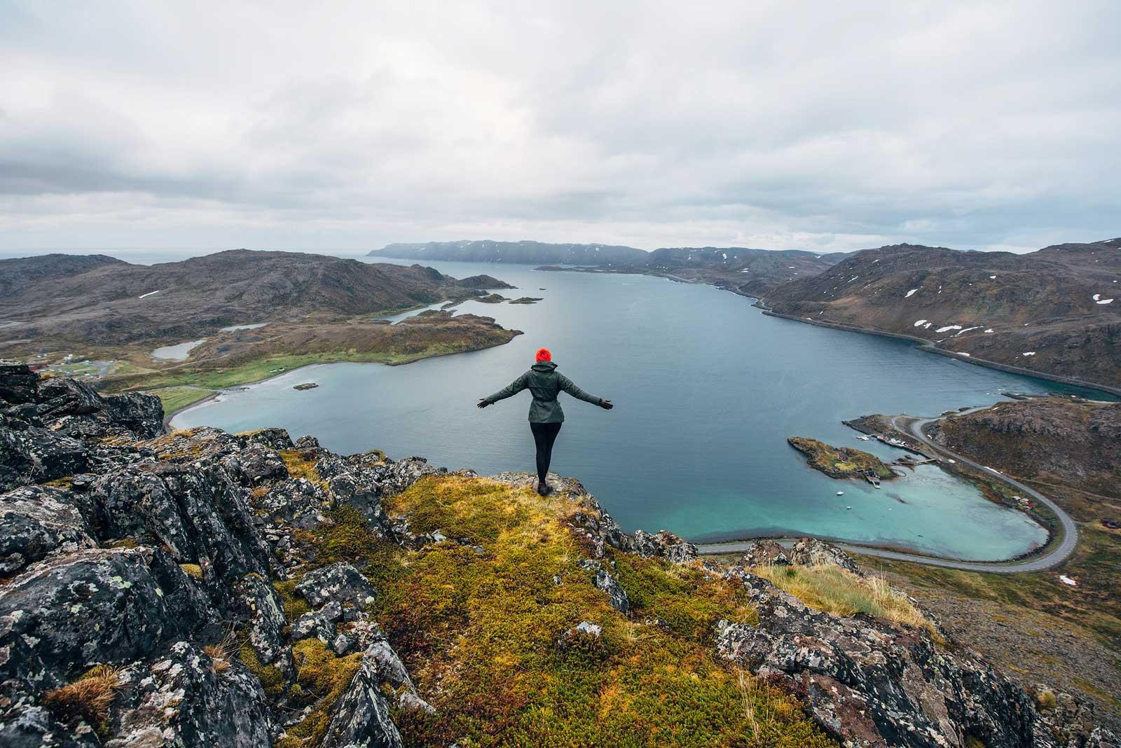 Randonnée Norvege Honningsvag