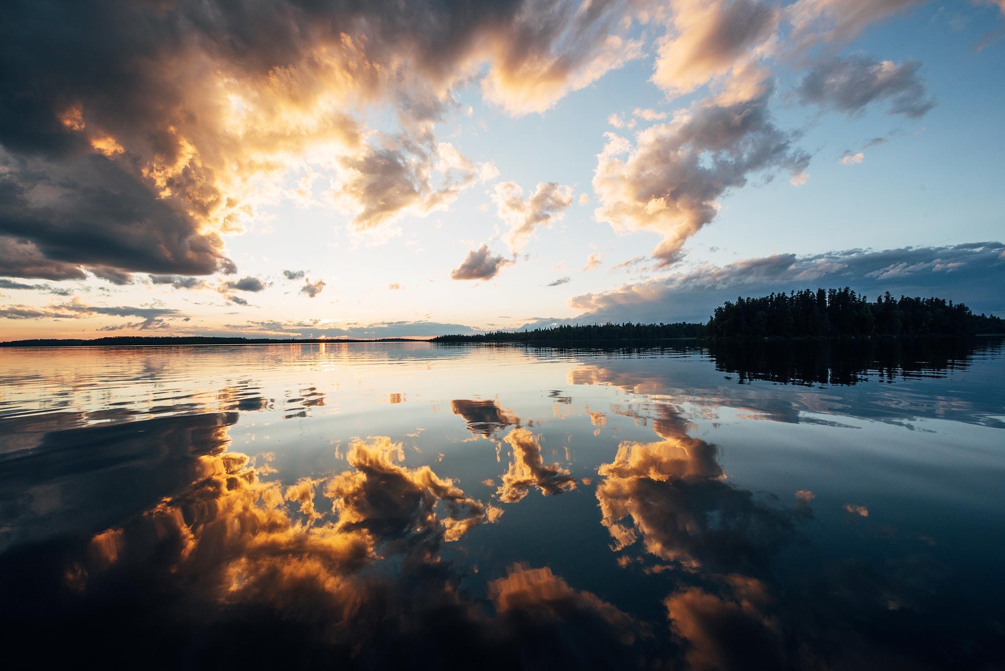 coucher de soleil canada