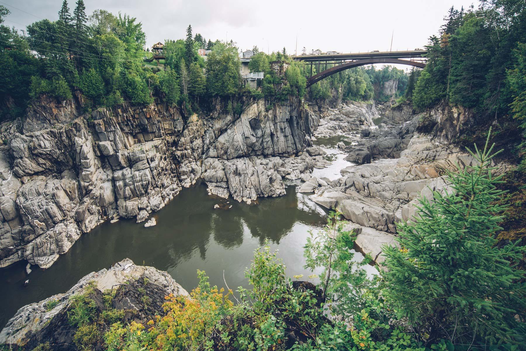 Gorge Grand Sault, Canada