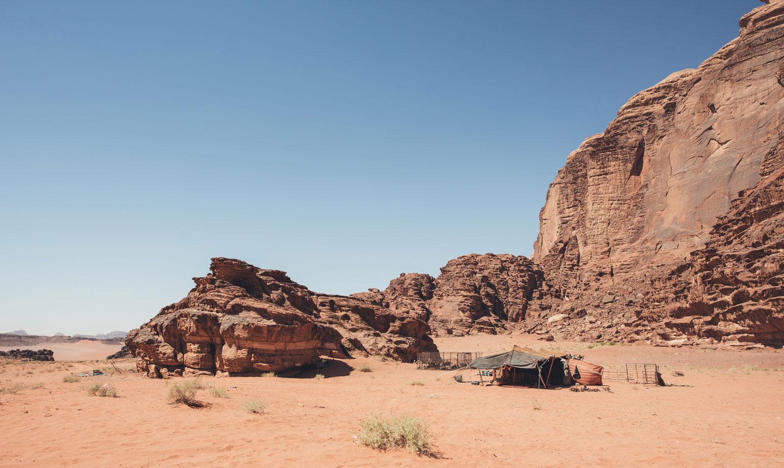 camp bedouins jordanie
