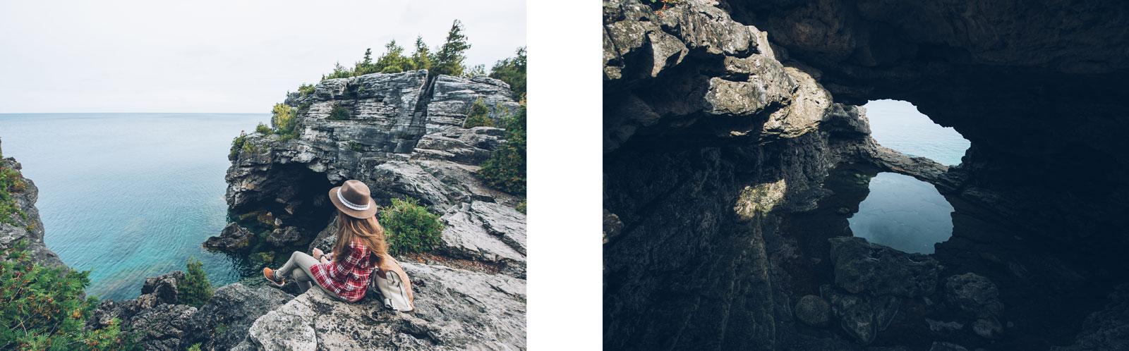 grotto bruce peninsula canada ontario