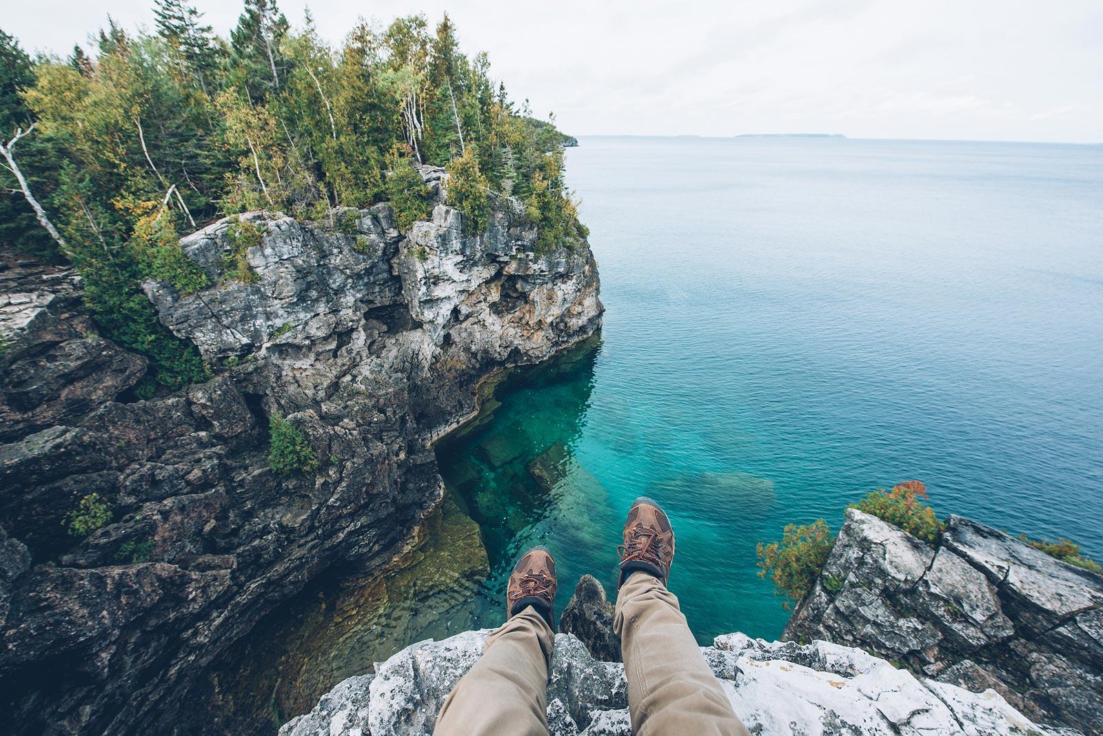 parc national péninsule de bruce grotto ontario