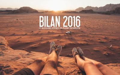 BILAN 2016 | Le blogging voyage en pleine expansion