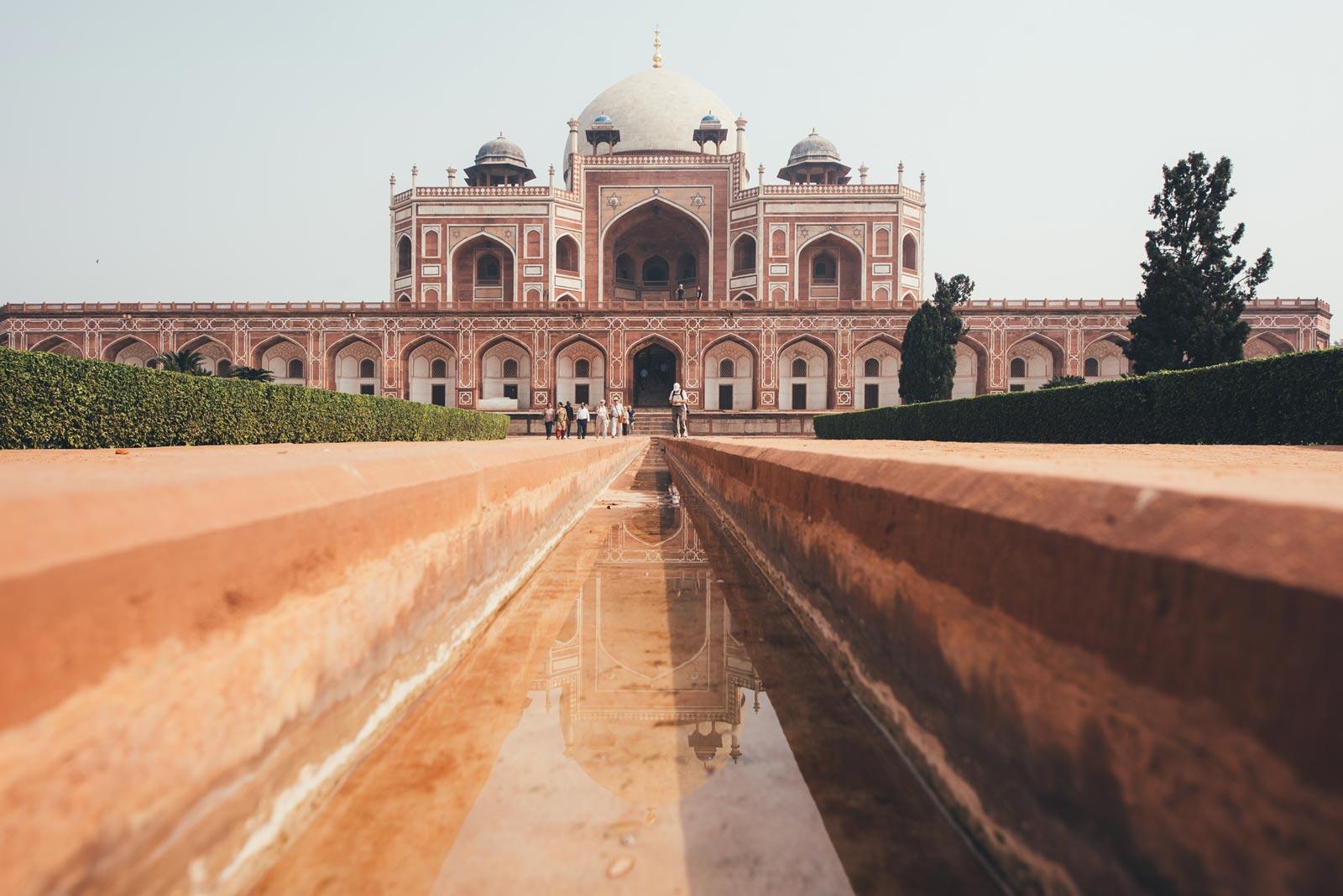 tombeau d'Humayun new delhi