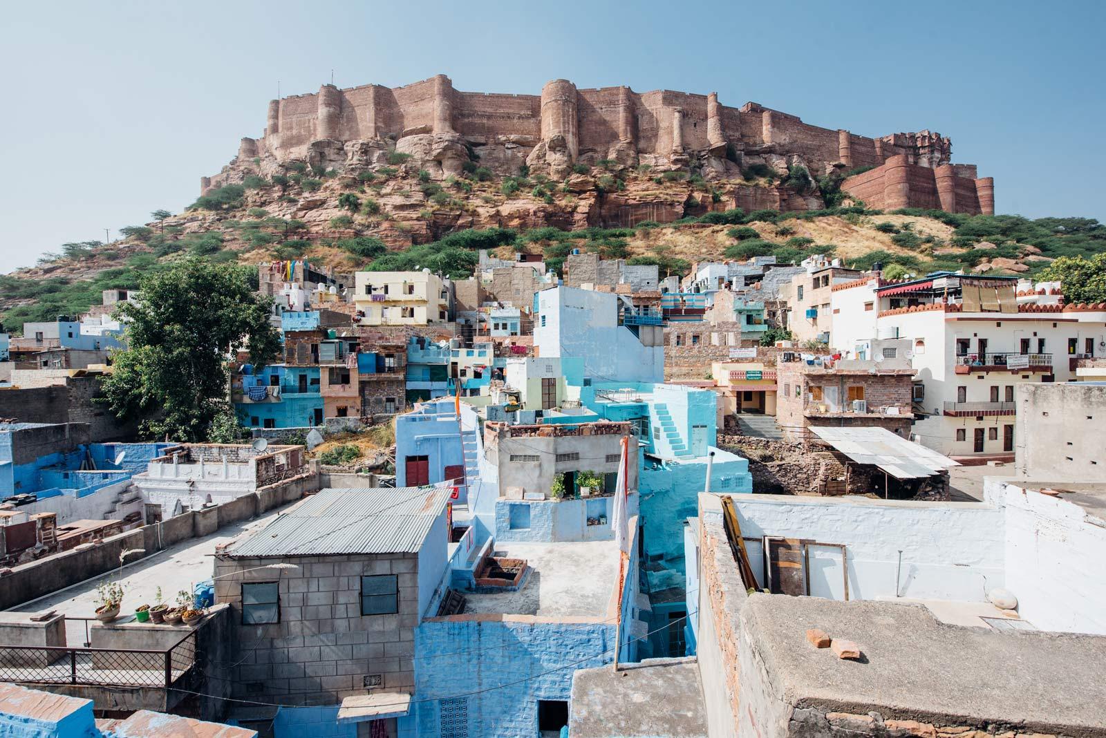 fort de jodhpur Inde du nord blog voyage