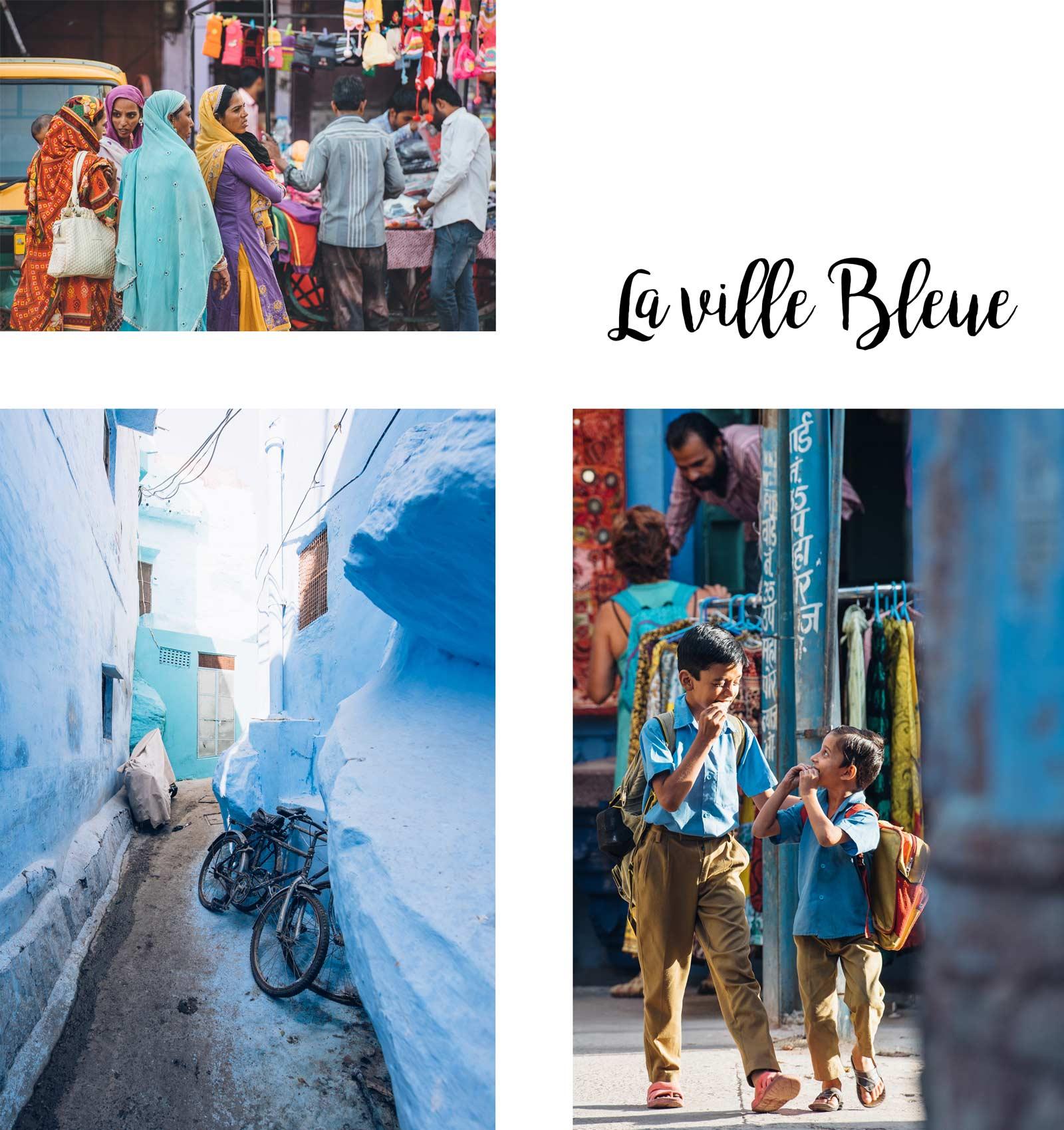 la ville bleue inde du nord rajastan