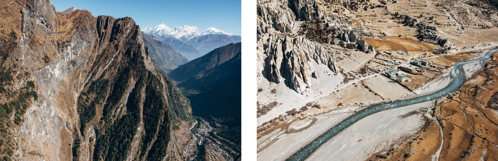 helicopter rapatriement népal