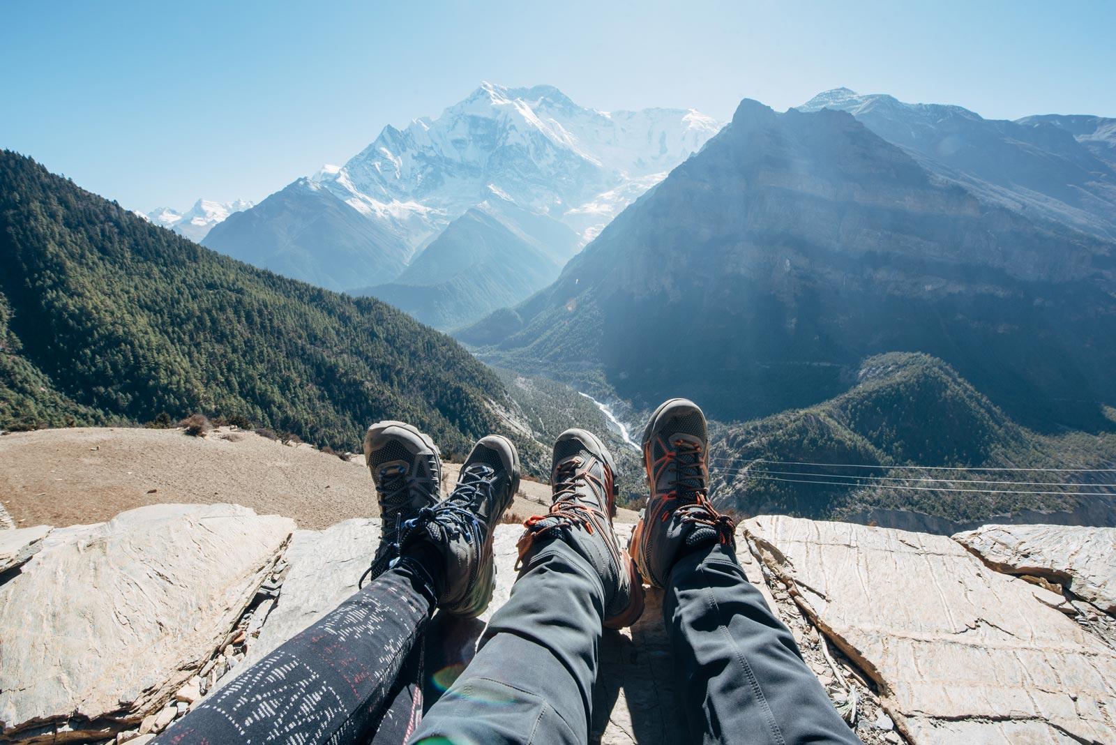 quelles chaussures pour un trek au nepal?