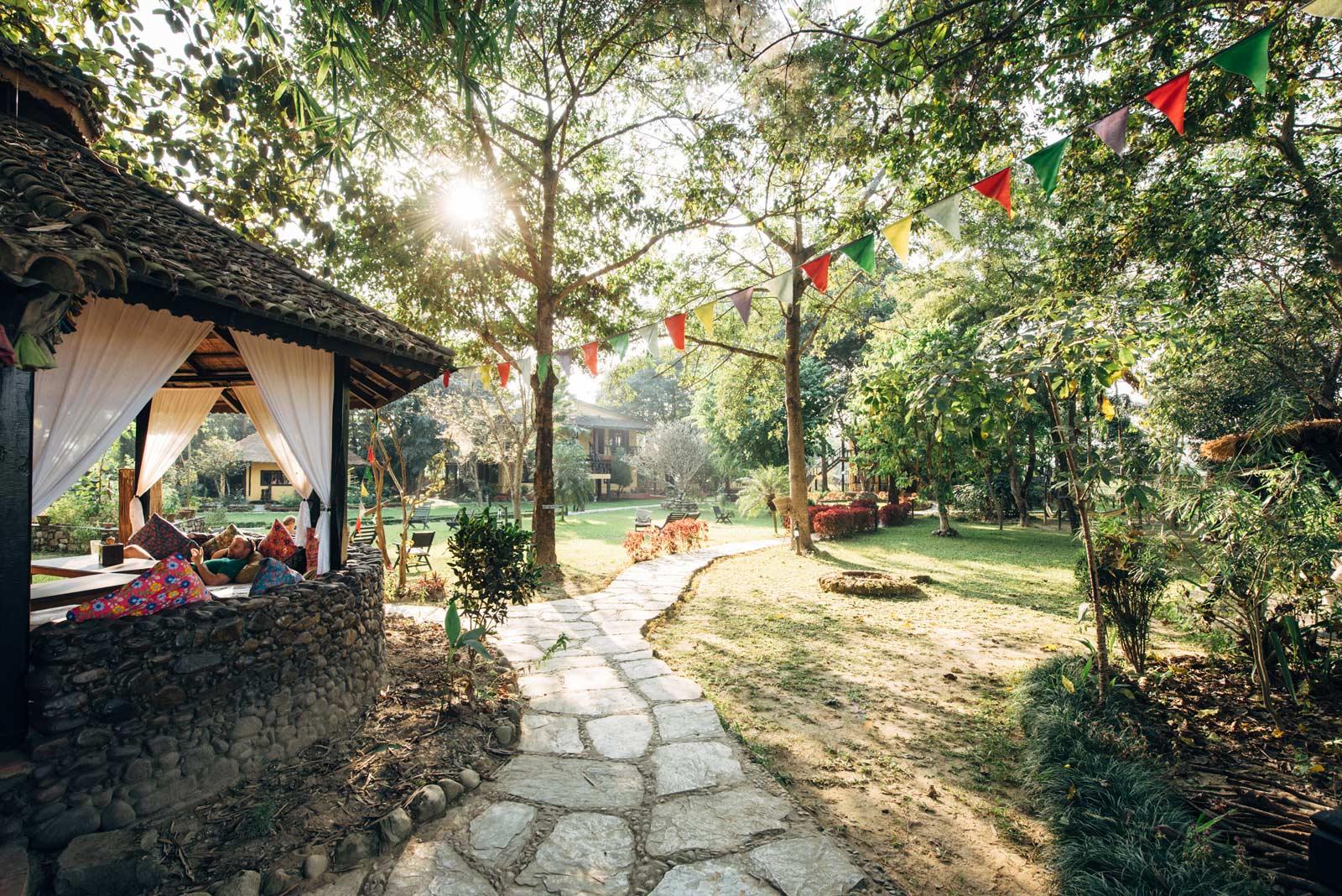 ou dormir à chitwan parc national nepal