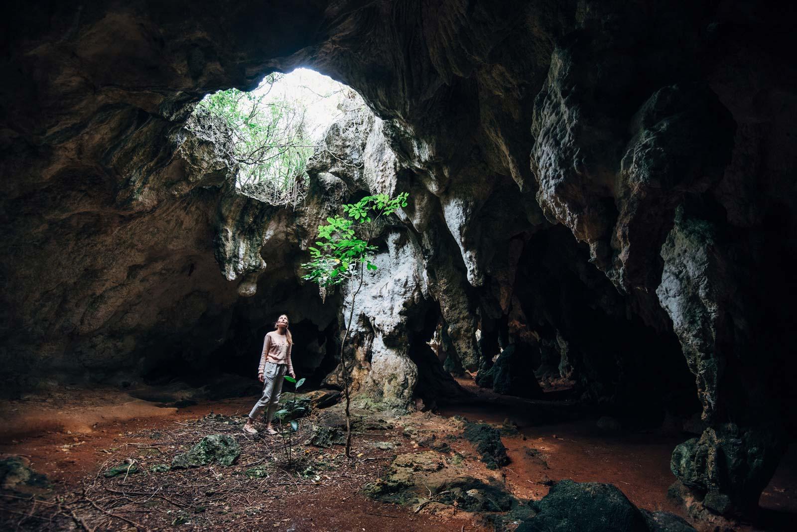 Hamilton's Cave, Long Island, Bahamas