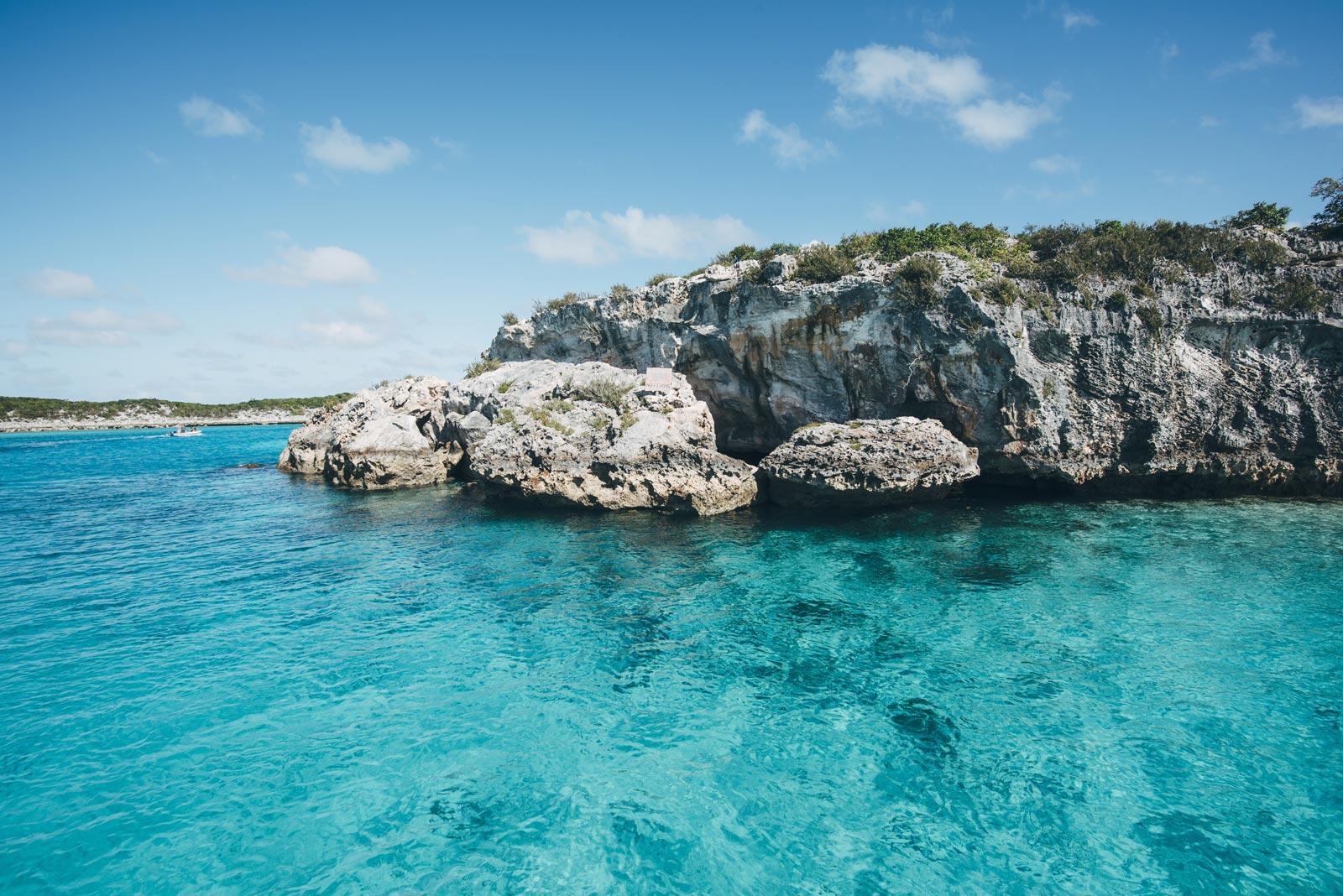 Thunderball grotto, Bahamas