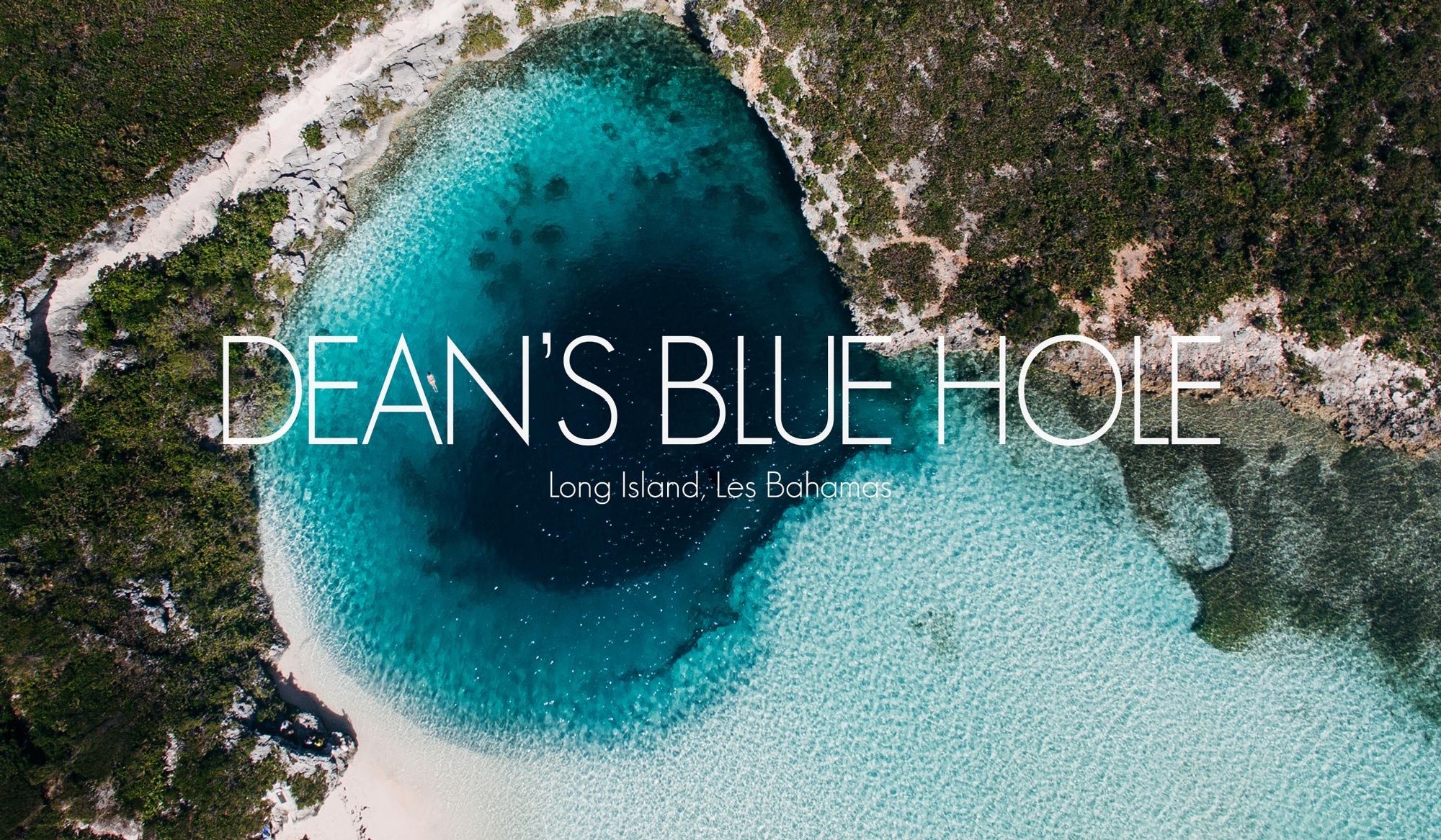 Dean's Blue Hole, Bahamas, Bestjobers Blog