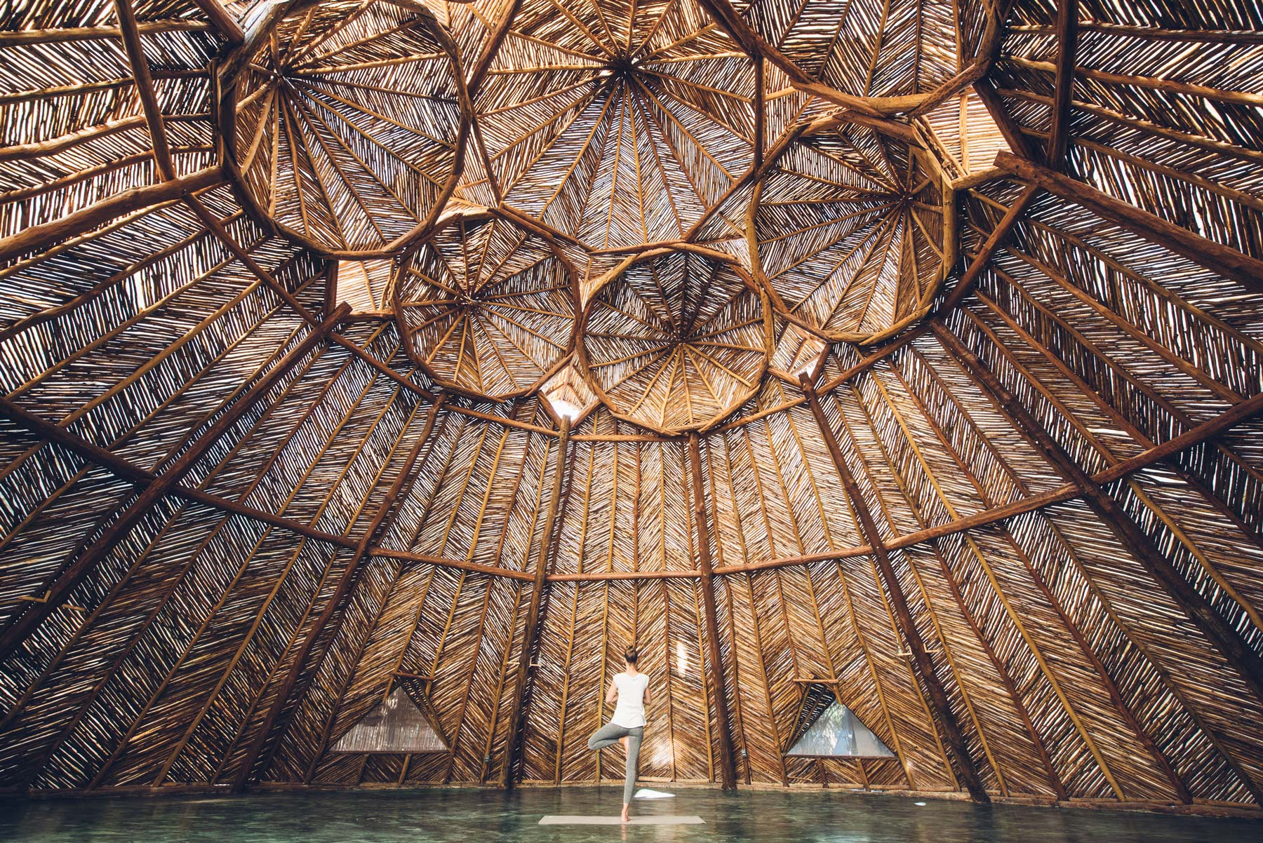 Eco Lodge Azulik Tulum, Salle de Yoga