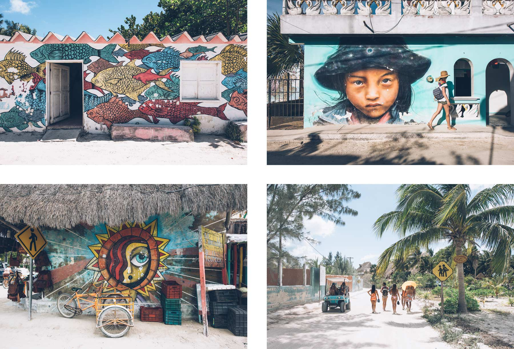 Street Art, Holbox, Mexique