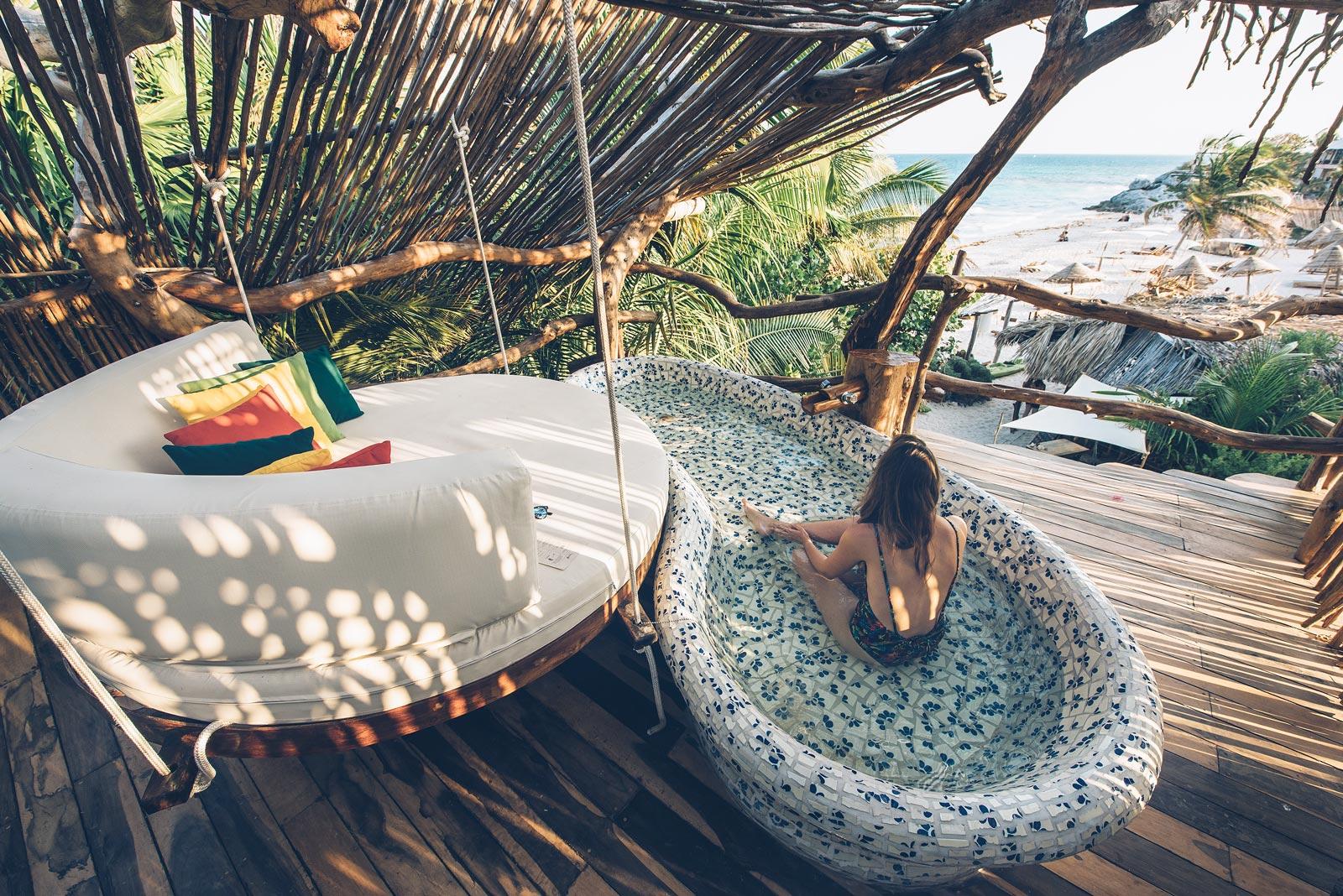 Azulik, Luxury Aztec Villa, Tulum