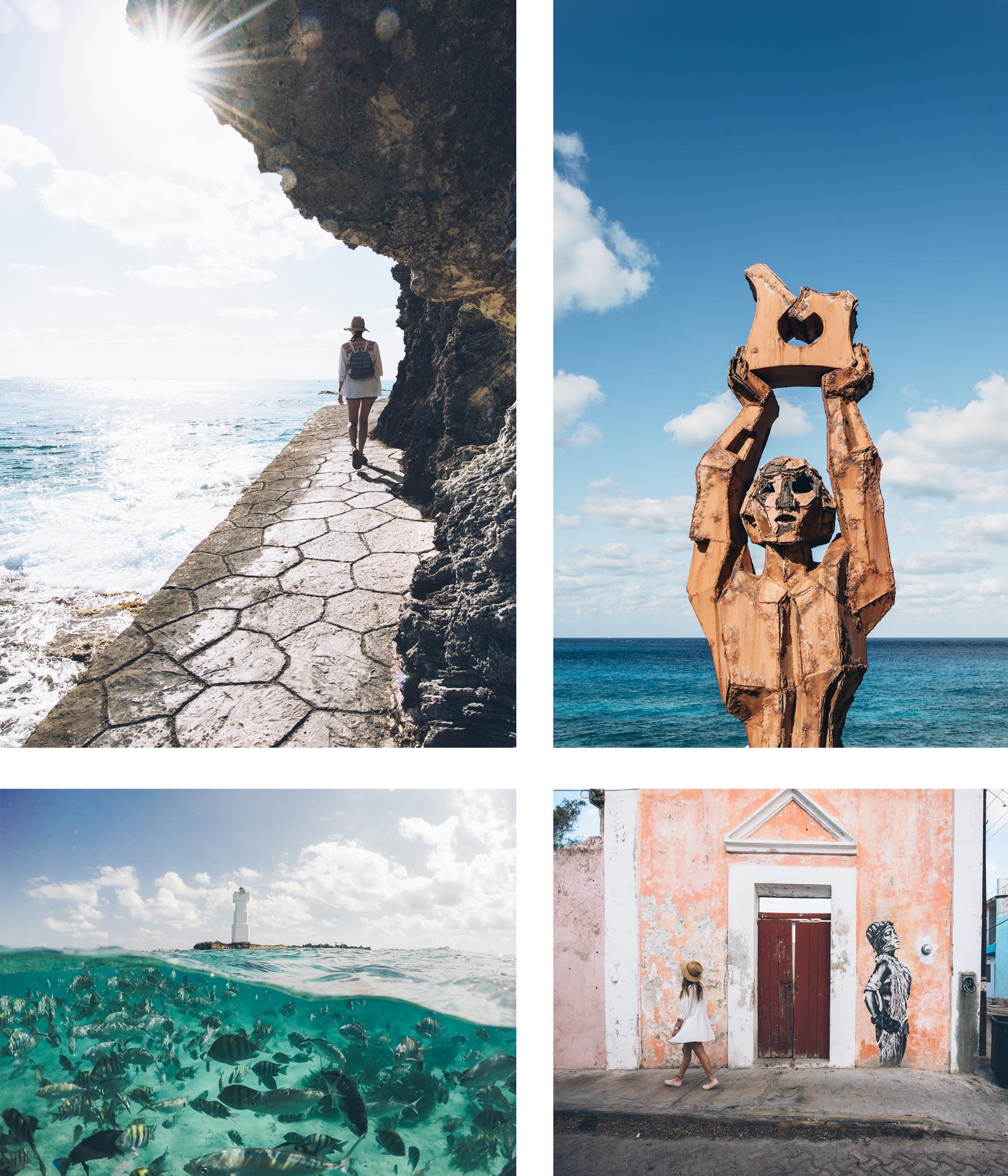 Isla Muheres, Hors des sentiers battus, Mexique