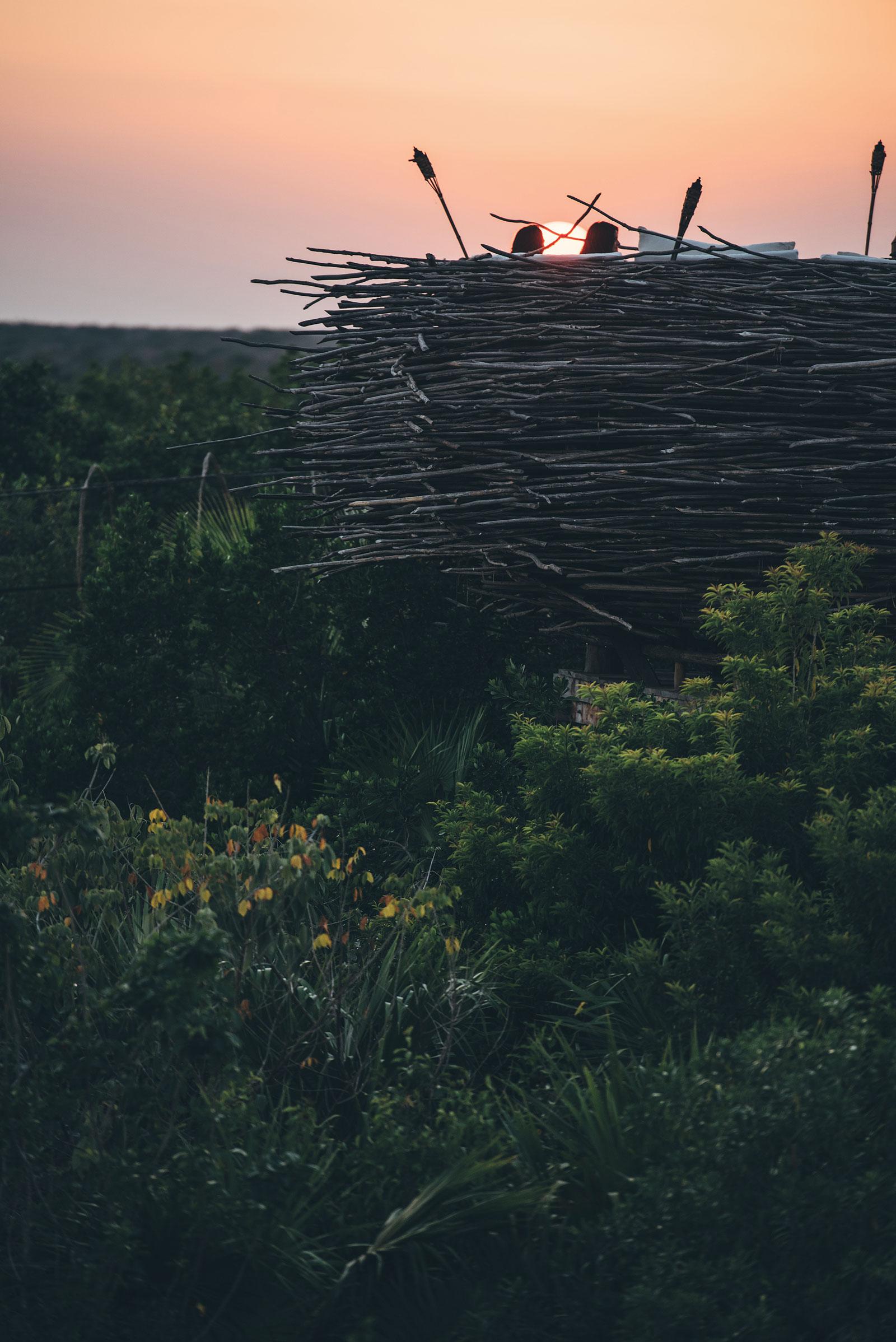 Le nid d'amour, Azulik, Tulum